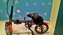 دراجة كهربائية تعمل بالبطارية